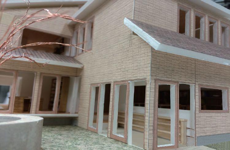 色いろ教室のある家(模型)